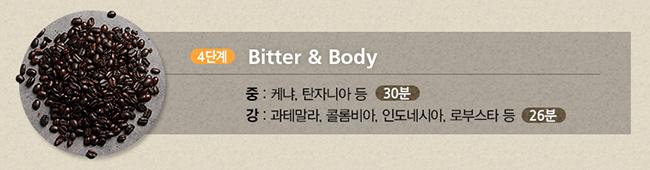 4단계 Bitter&Body