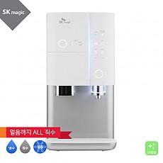 [렌탈] SK매직 All in One 직수 얼음 정수기 냉정 UV WPU-I110C 실버/냉정수얼음 직수형/UV안심케어/출수살균/사물인터넷IoT/스테인리스 직수관/의무사용3년/등록설치비면제/월46,900원